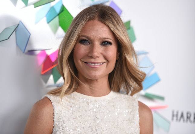 Gwyneth Paltrow arrives at an event.