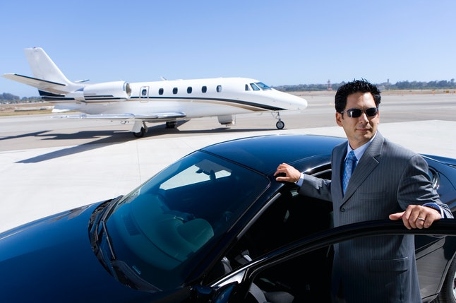 Just a normal middle-class guy with his private jet.