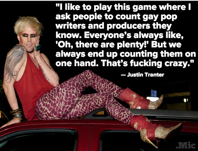 industry the gay Whos in music
