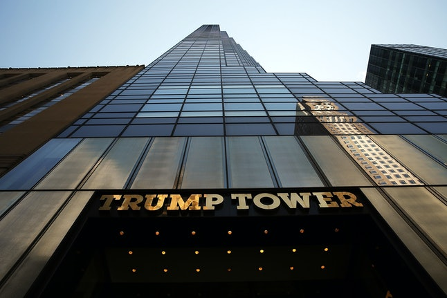 The Trump Tower on New York City's 5th Avenue