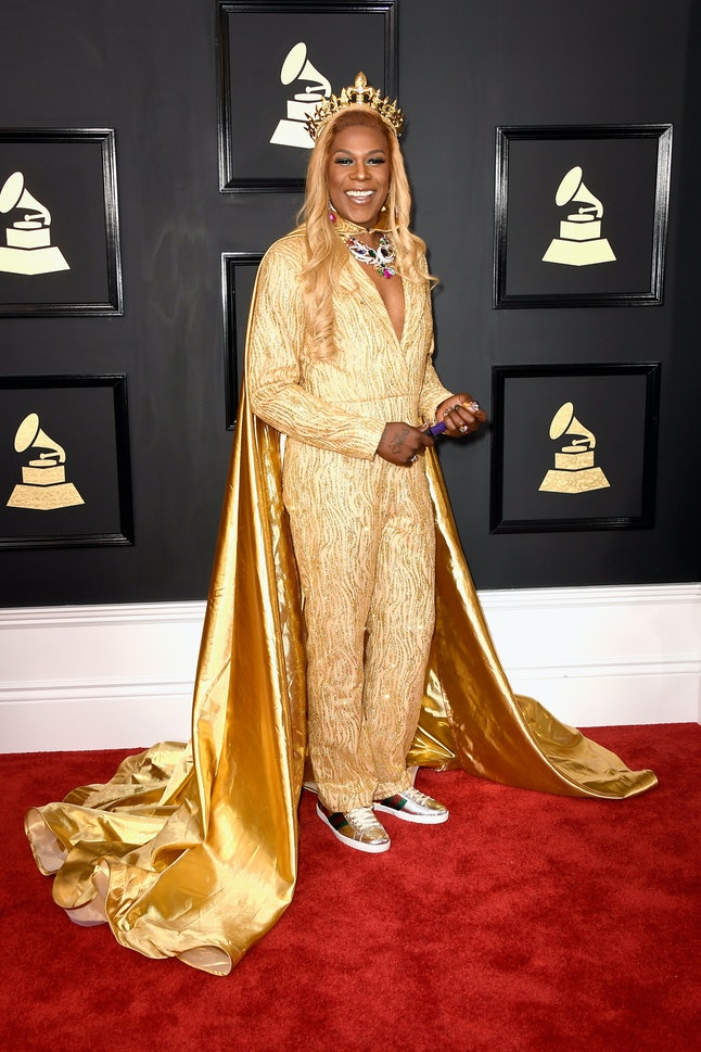 Big Freedia attends The 59th GRAMMY Awards at STAPLES Center on February 12, 2017