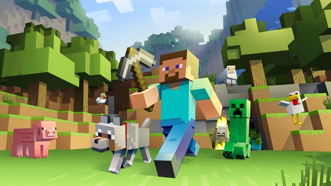 In 'Minecraft,' your dad can choose his own adventure.