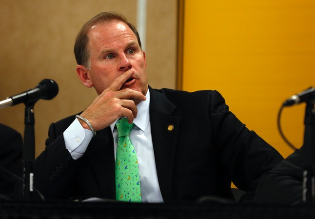 University of Missouri system president Tim Wolfe