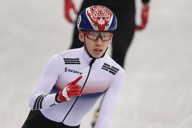 South Korean speed skater Lim Hyo-jun won South Korea's first gold medal of the Pyeongchang Olympics.