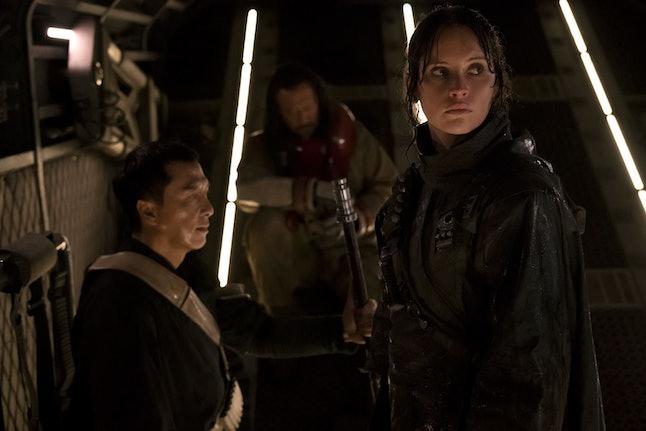 "'Rogue One' was a huge success despite ""extensive reshoots."""