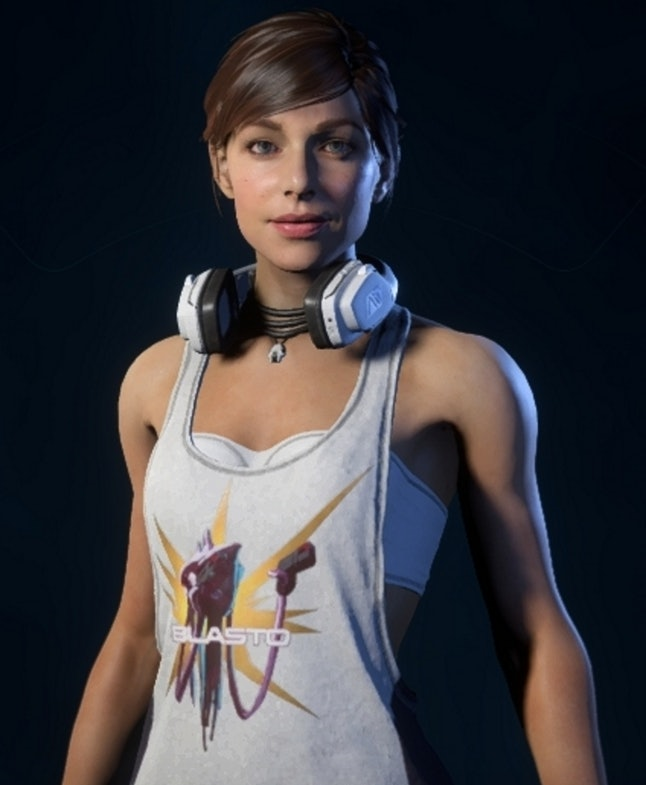 Sara's new casual outfit in 'Mass Effect: Andromeda'