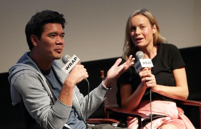 Destin Daniel Cretton and Brie Larson attend an awards screening for 'Short Term 12' in 2013.