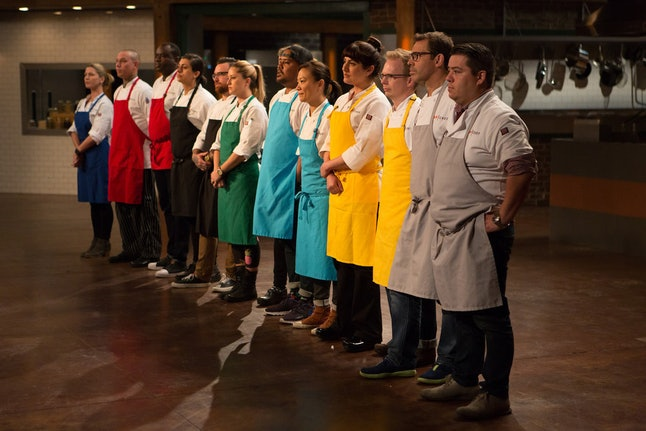 The cast of this season of 'Top Chef'