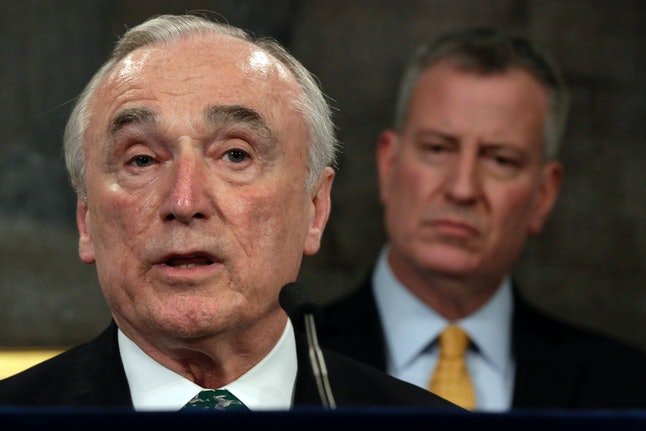 Former-NYPD Chief William Bratton.