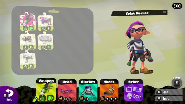 Right now, I'm — I mean my inkling is — sporting a nautical striped shirt and some double monk strap shoes.