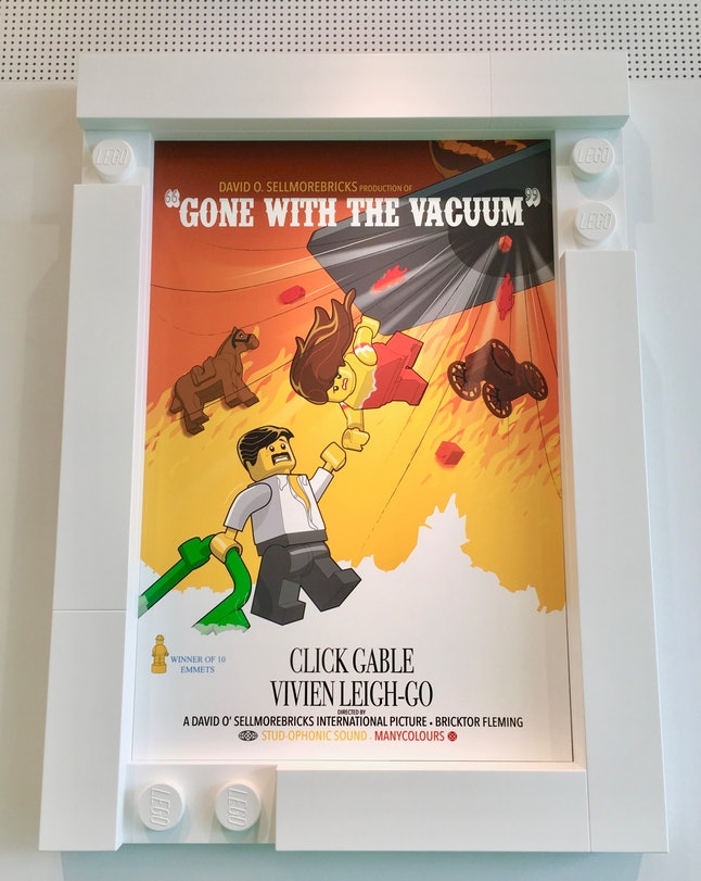 A movie poster in the Green Zone