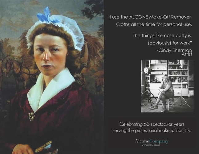 Artist Cindy Sherman, on her love of Alcone