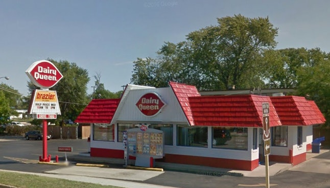 The Zion, Illinois Dairy Queen, as pictured in Aug. 2012.