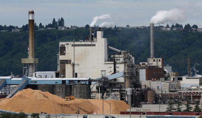 A Washington state paper mill