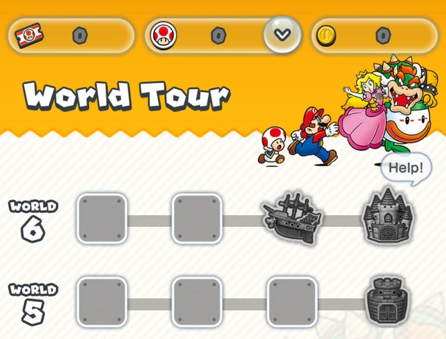 Super Mario Run will contain six worlds with four levels each