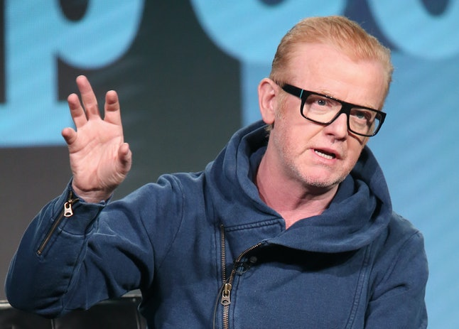Radio host Chris Evans was the BBC's top-earning star in the 2016/17 fiscal year.