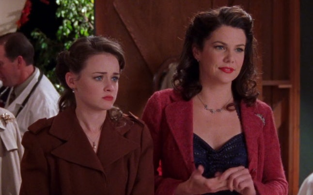 """Rory and Lorelai in """"They Shoot Gilmores, Don't They?"""" (3.07)"""