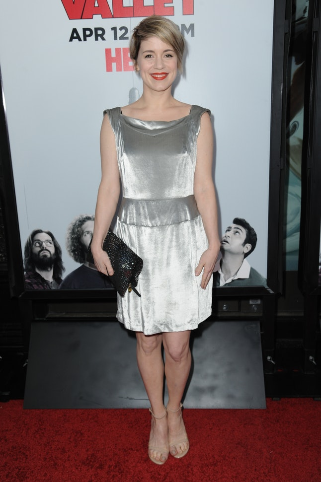 Alice Wetterlund at the premiere of season two of 'Silicon Valley' on April 2, 2015, in Los Angeles.