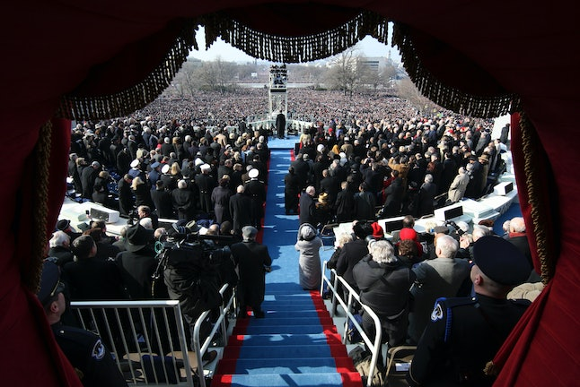 President Obama's first inauguration in 2009.