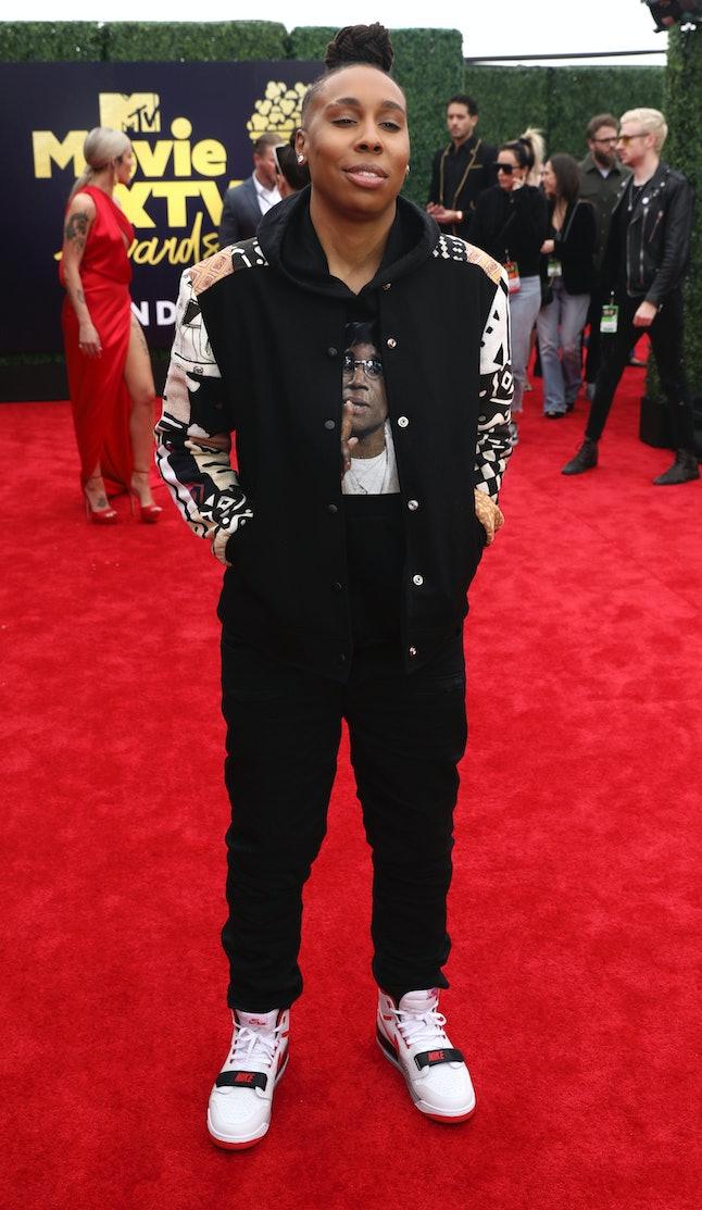 Lena Waithe at the 2018 MTV Movie and TV Awards