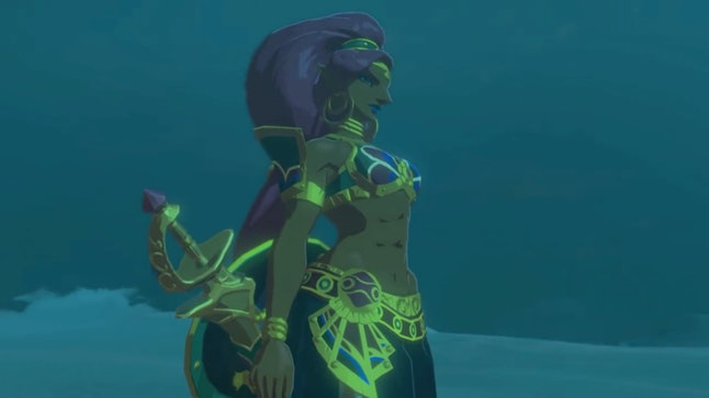 Urbosa, the Gerudo Champion, could hold her own in 'Smash Bros.'