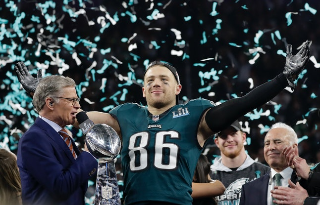 Philadelphia Eagles' Zach Ertz