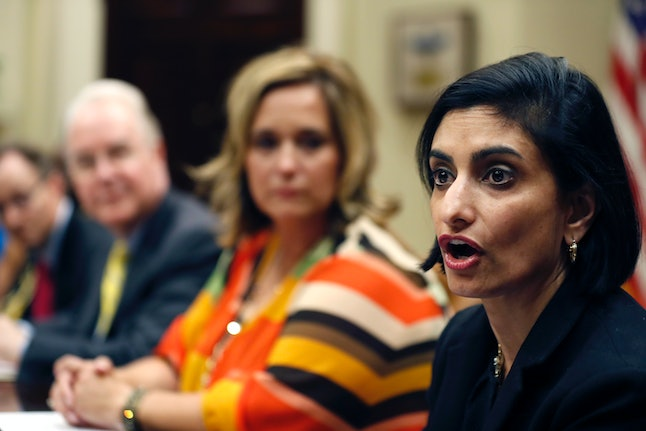 Seema Verma, administrator of the Centers for Medicare and Medicaid Services