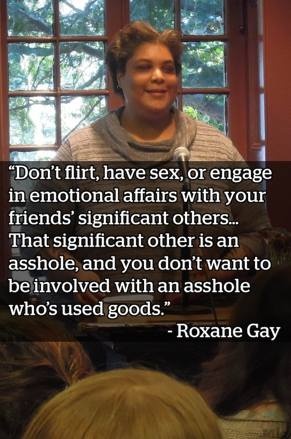 From Roxane Gay's book 'Bad Feminist.'