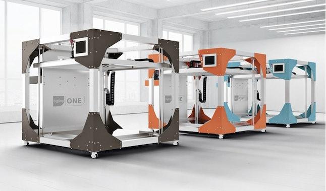 BigRep One large-scale 3-D printers