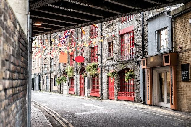 A sidestreet in Dublin
