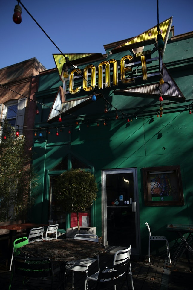 """Comet Ping Pong pizzeria was the site of a shooting after an individual was inspired by fake news to """"self investigate"""""""