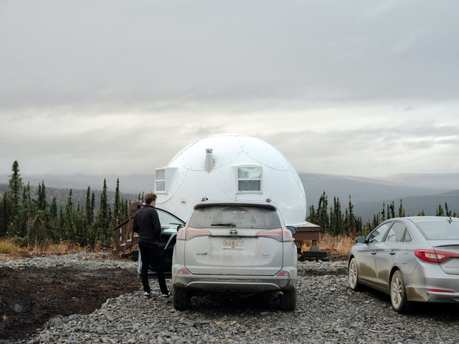 Source: Book your trip to the Borealis Basecamp on Booking.com.