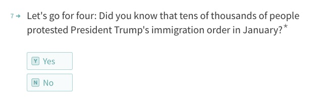 A question from House Speaker Paul Ryan's new web quiz