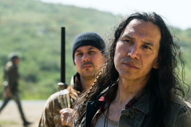 Walker, played by Michael Greyeyes
