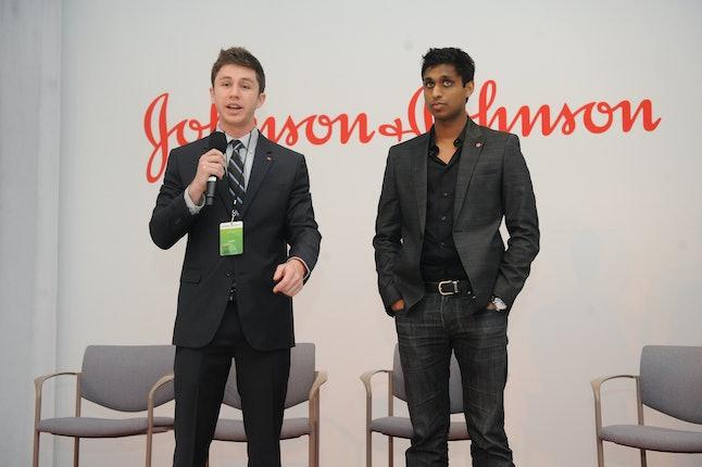 Alex Fiance (L) and Ankur Jain (R)