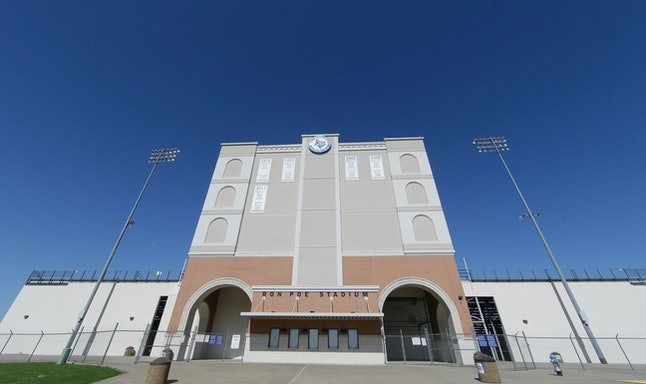 McKinney's current stadium, built in 1962, holds 7000 people.