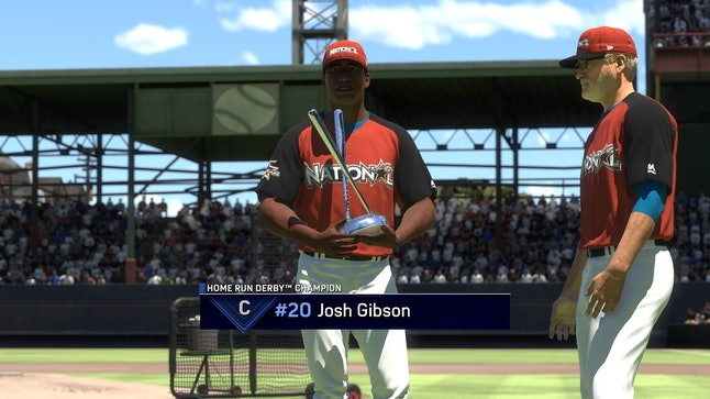Josh Gibson in MLB The Show