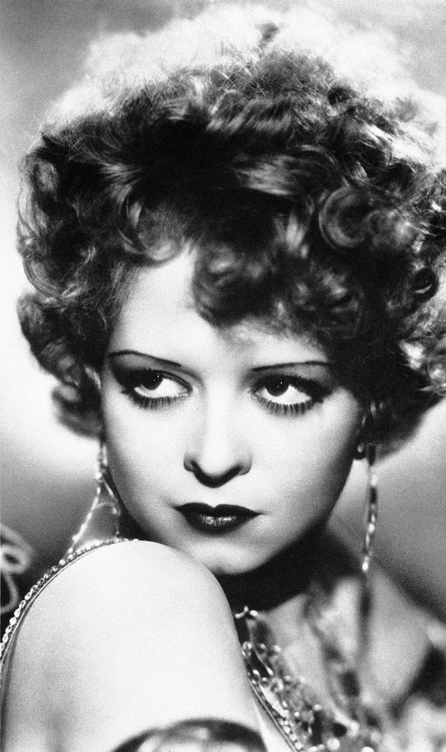 Actress Clara Bow in the 1920s