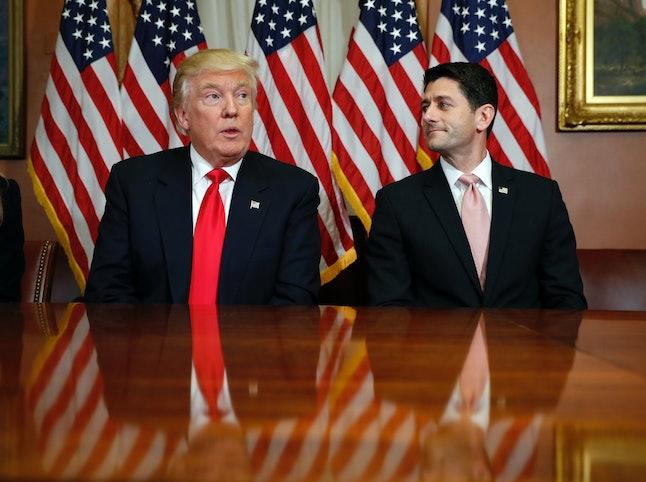 Paul Ryan and Donald Trump haven't always seen eye-to-eye.