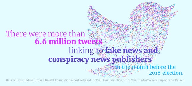 Twitter was, and still is, plagued with fake accounts spreading wrong information.