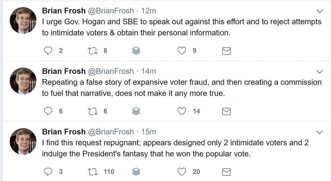 Brian Frosh is attorney general of Maryland.