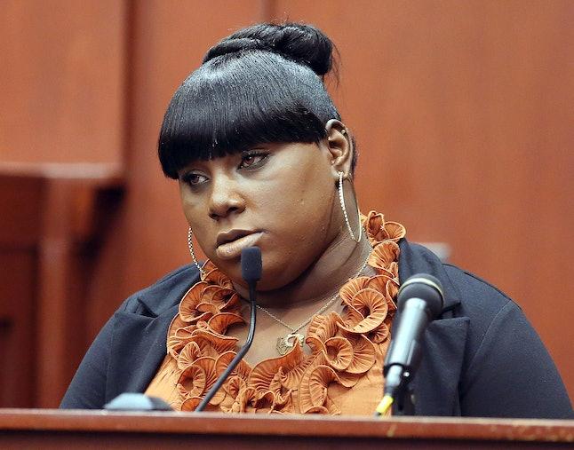 Rachel Jeantel testifying at George Zimmerman's trial in 2013.