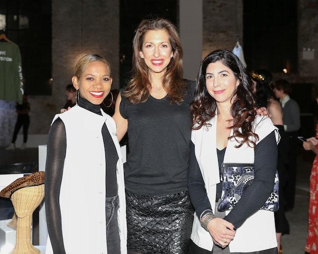 Alysia Reiner (center) with her fellow Livari founders, Claudine DeSola and Tabitha St. Bernard-Jacobs