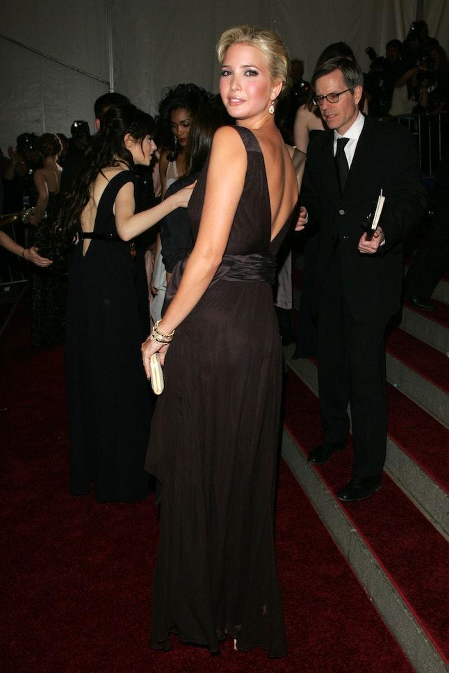 Ivanka Trump at the 2006 Met Gala