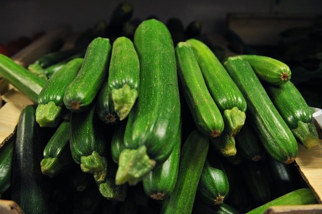 Zucchini for your oats.