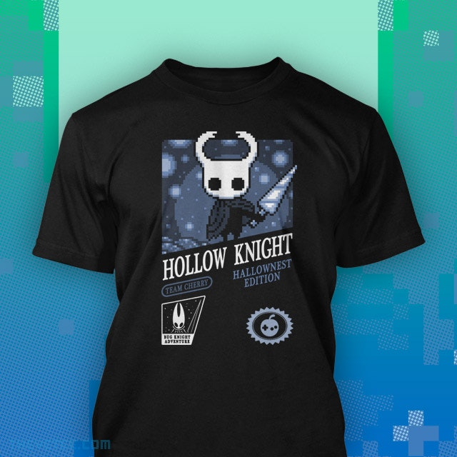 Black shirt for the new Hollow Knight