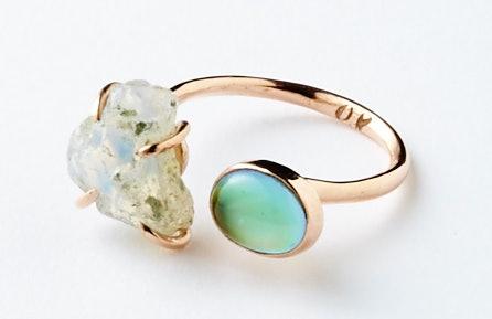 Olivia Kane Opal Double Mood Ring