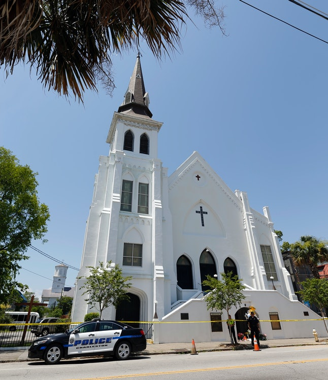 The Emanuel AME church in Charleston, South Carolina