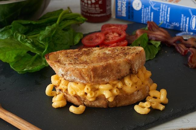 Mac and cheese sandwich, anyone?