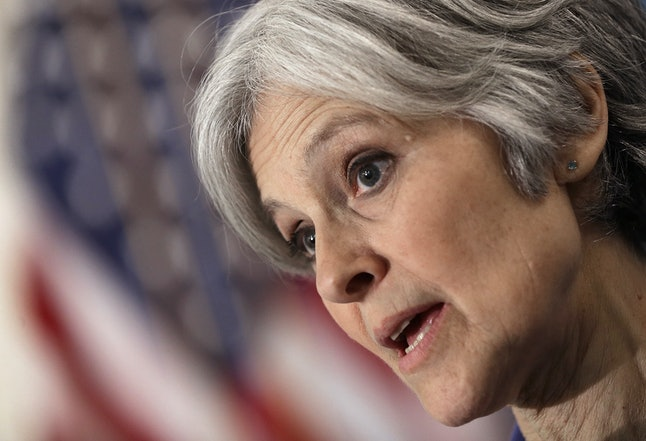 Jill Stein is the Green Party nominee.